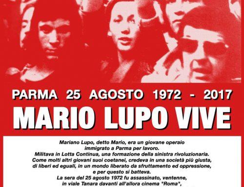 Commemorazione di Mario Lupo 2017
