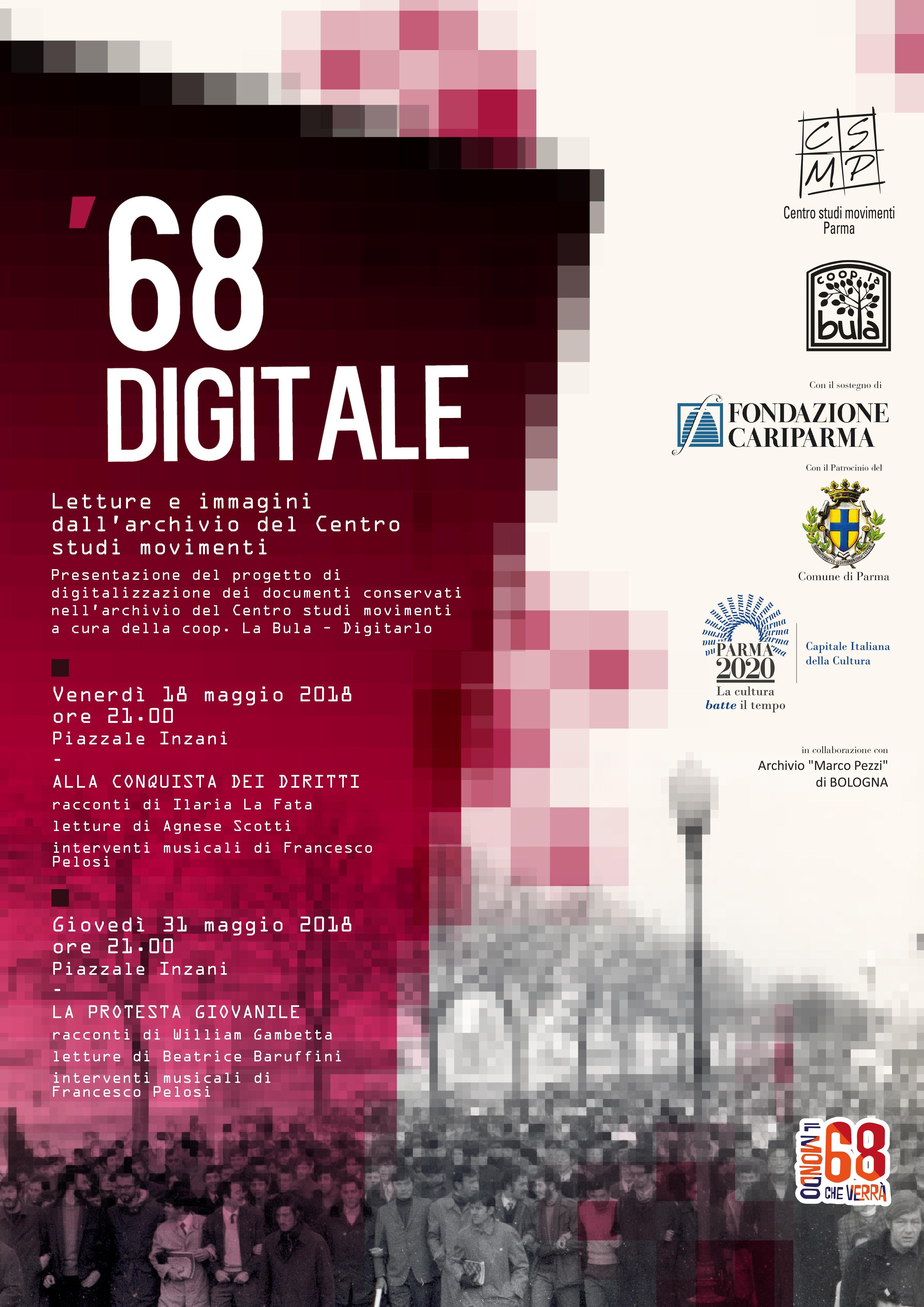 68 Digitale – 18 e 31 Maggio 2018