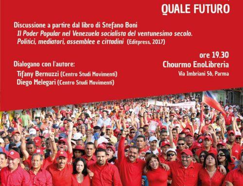 Il socialismo venezuelano – Mercoledì 16 Maggio 2018