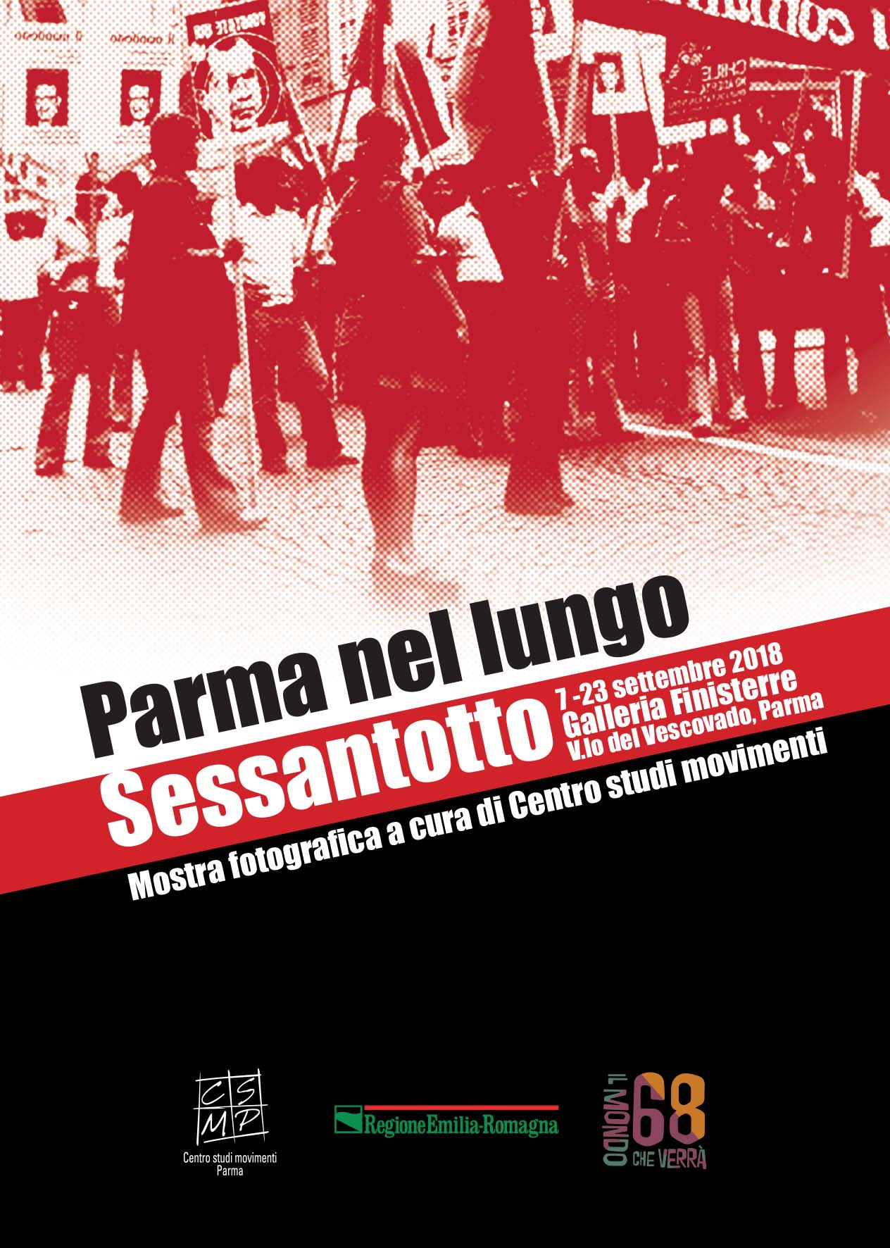 Parma nel lungo Sessantotto – Mostra fotografica 7-23 settembre 2018