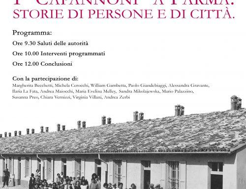 I Capannoni di Parma. Convegno – 16 novembre 2019