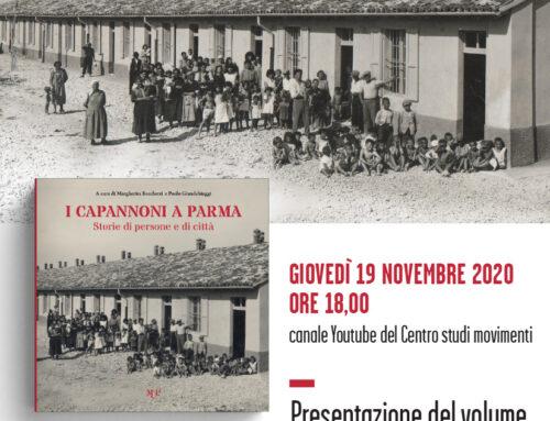I Capannoni di Parma. Presentazione online del libro – 19 Novembre 2020