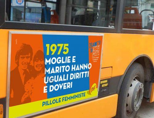 #acchiappailbusfemminista – Fotografa le Pillole femministe sui bus di Parma