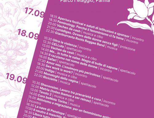 Re/Sister! Festival femminista – 17/18/19 settembre 2021