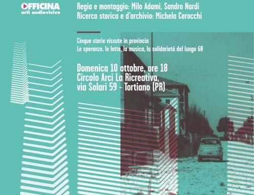 68 Storie di provincia. Presentazione a Tortiano – 10 ottobre 2021